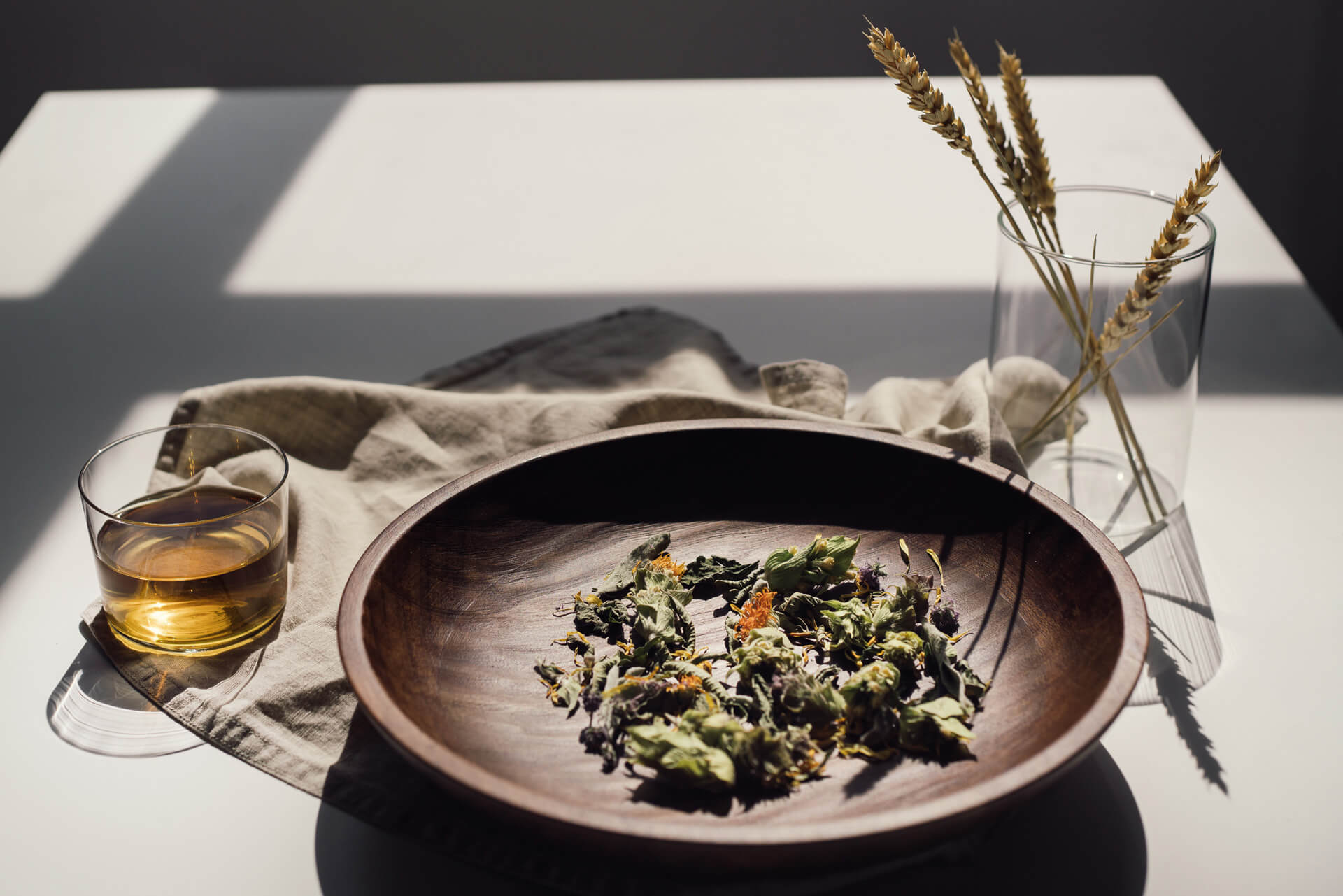 greek herbal tea loose leaf agros blend rhoeco