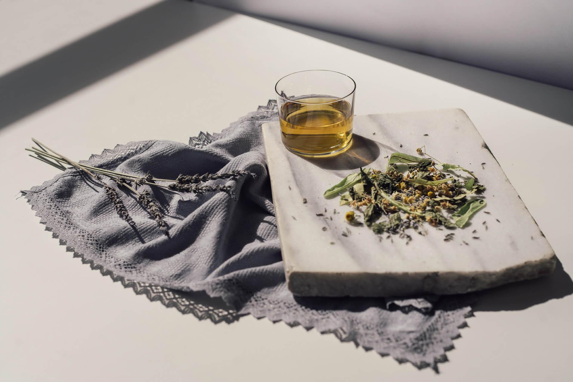 herbal tea loose leaf rhoeco organic relaxing