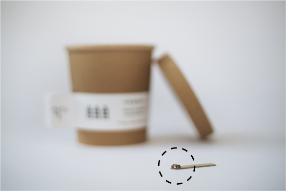 seed stick organic herbal tea concept reuse