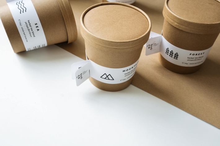 minimal sustainable packaging rhoeco biodegradable