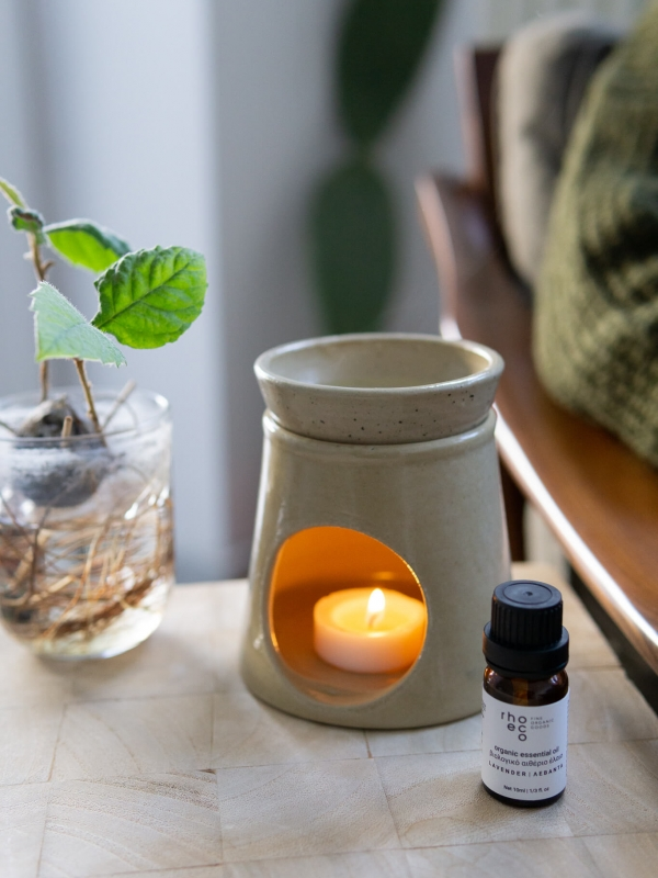 home ritual rhoeco organic essential oil