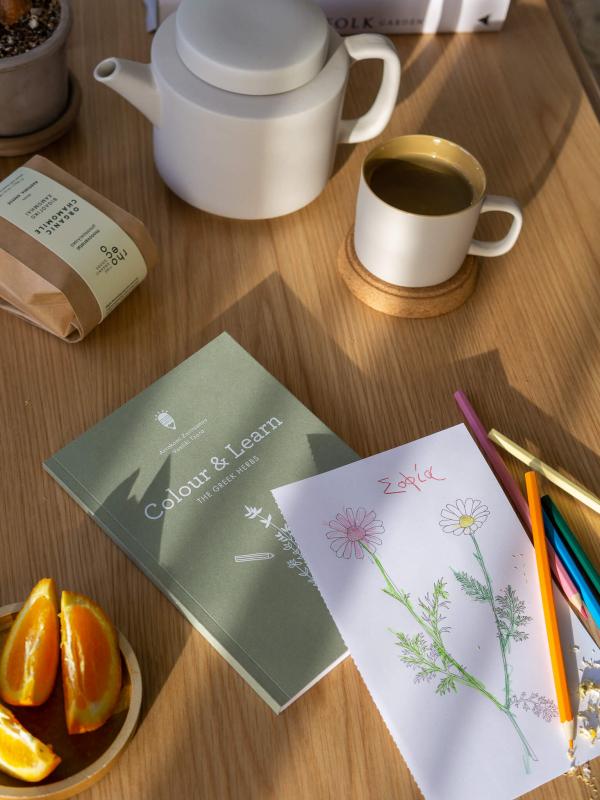rhoeco kids gift box organic chamomile