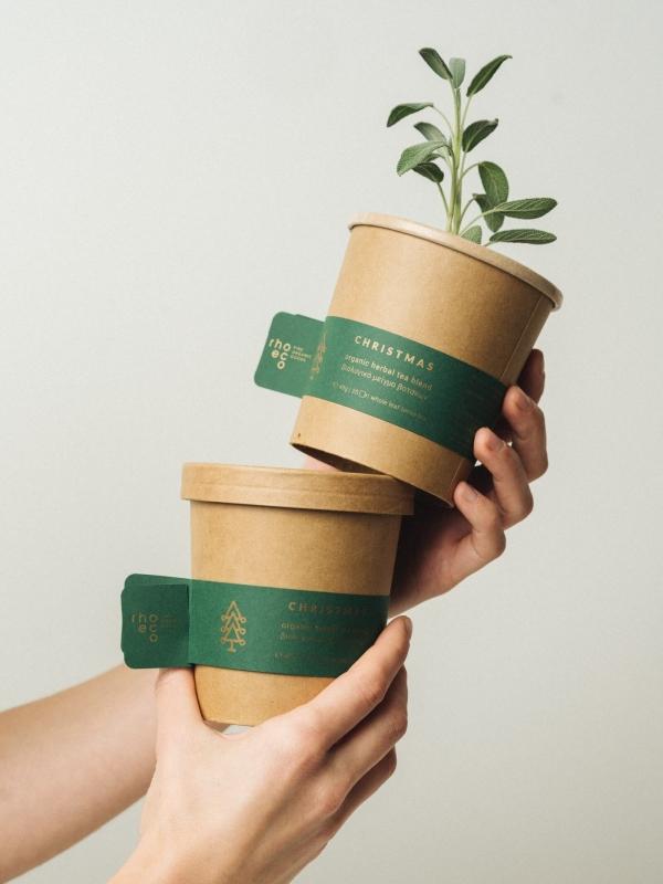 rhoeco Christmas herbal tea blend