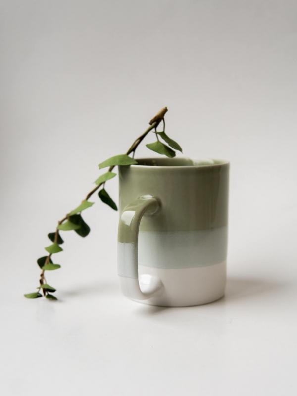rhoeco kinta mug white celandon