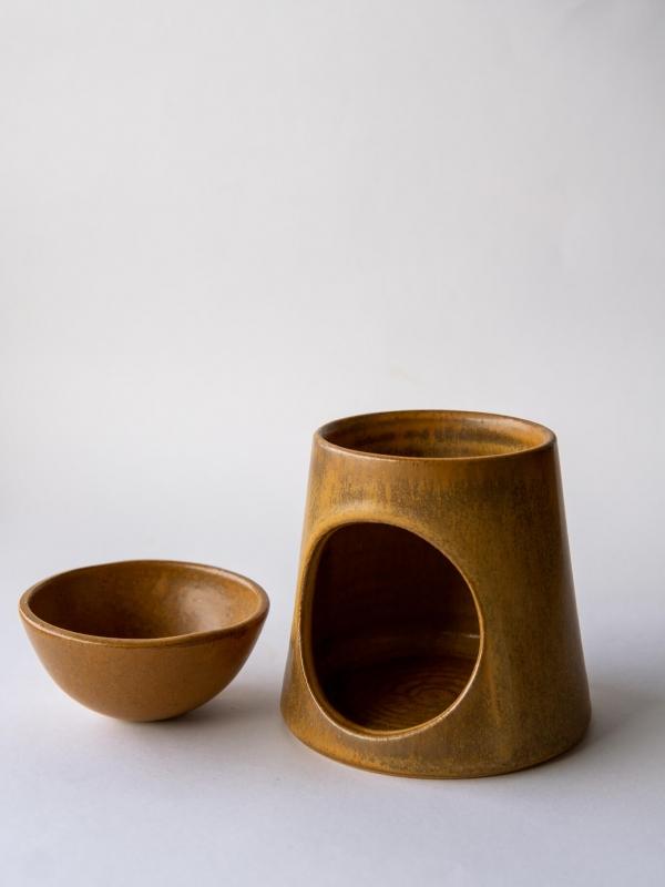 rhoeco ceramic oil burner studio