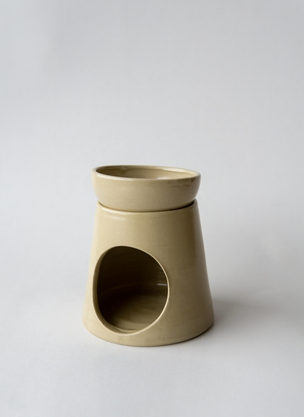 rhoeco ginger oil burner ceramic
