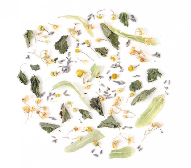 herbal tea blend loose leaf rhoeco herbs relax