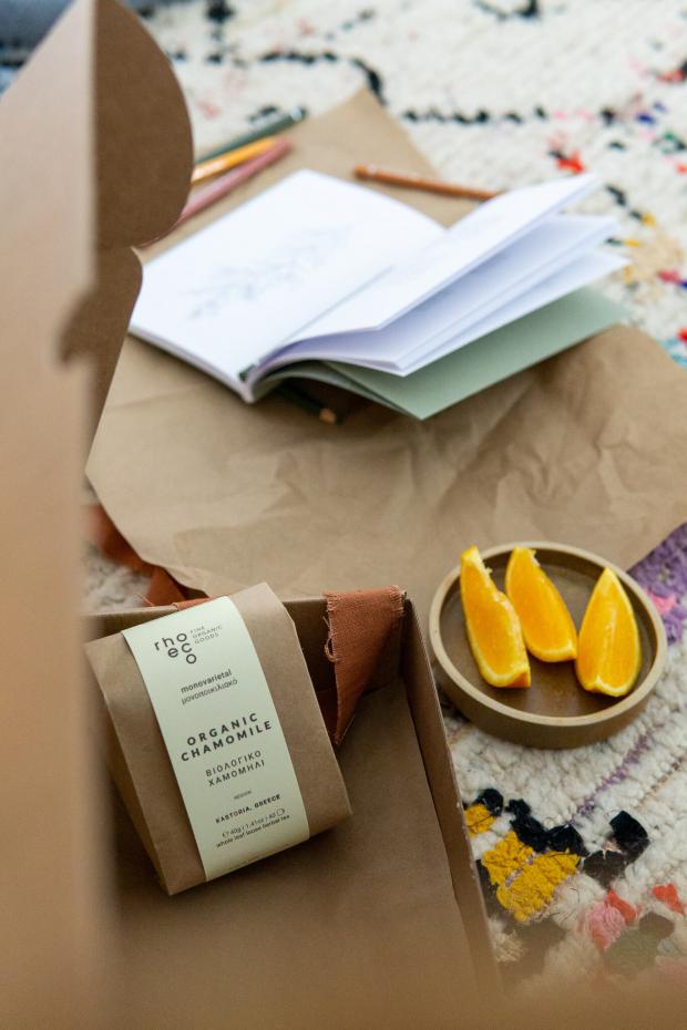 rhoeco kids box organic chamomile