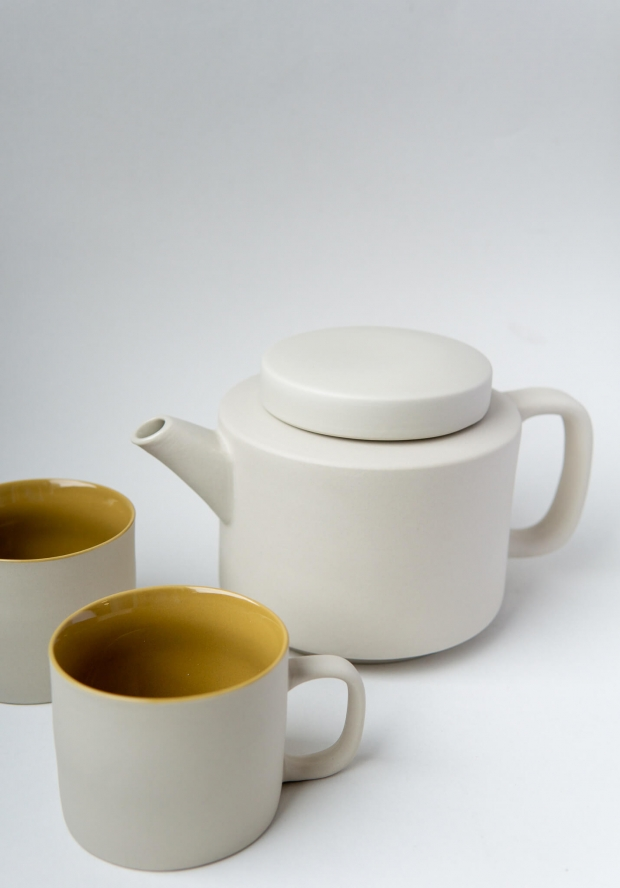tea pot - light grey 950ml