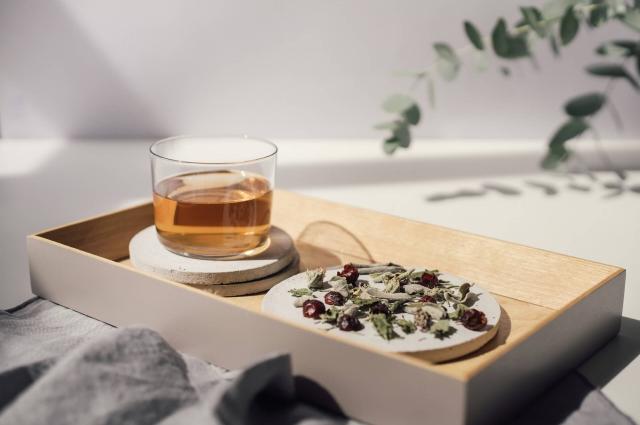 herbal tea rhoeco organic blend artisanal drink loose leaf