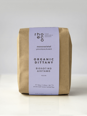 organic dittany crete island rhoeco packaging
