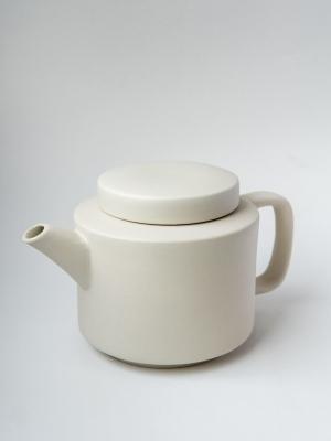 rhoeco kinta teapot light grey
