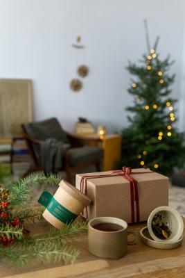 rhoeco herbal tea set ceramic mug