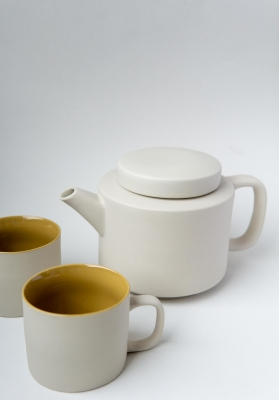 tea pot - light grey 950ml